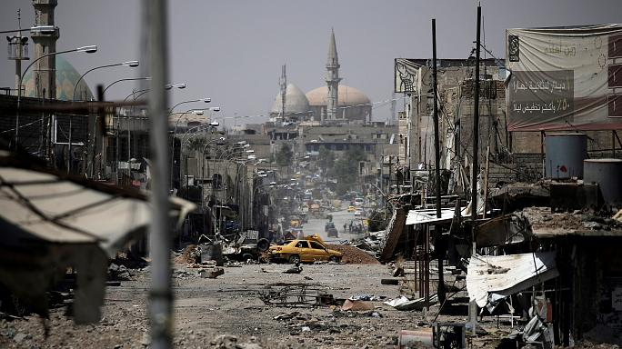 القوات العراقية تتقدم باتجاه الجانب الغربي للموصل