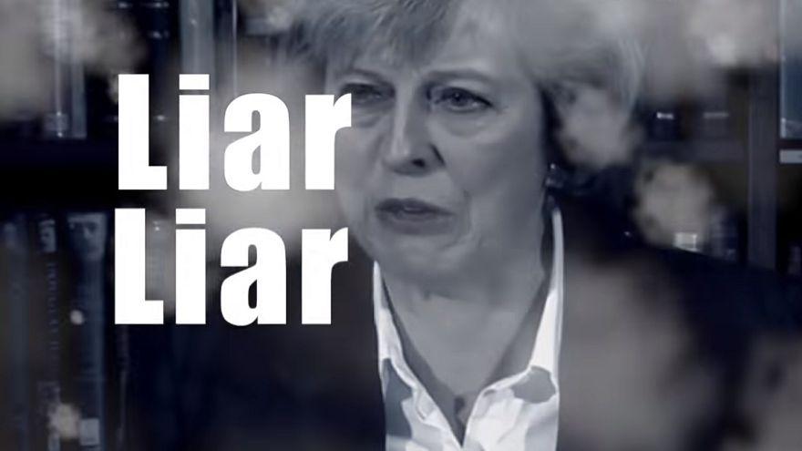 """""""Lügnerin, Lügnerin"""": Ein Popsong über Theresa May wird zum Hit"""