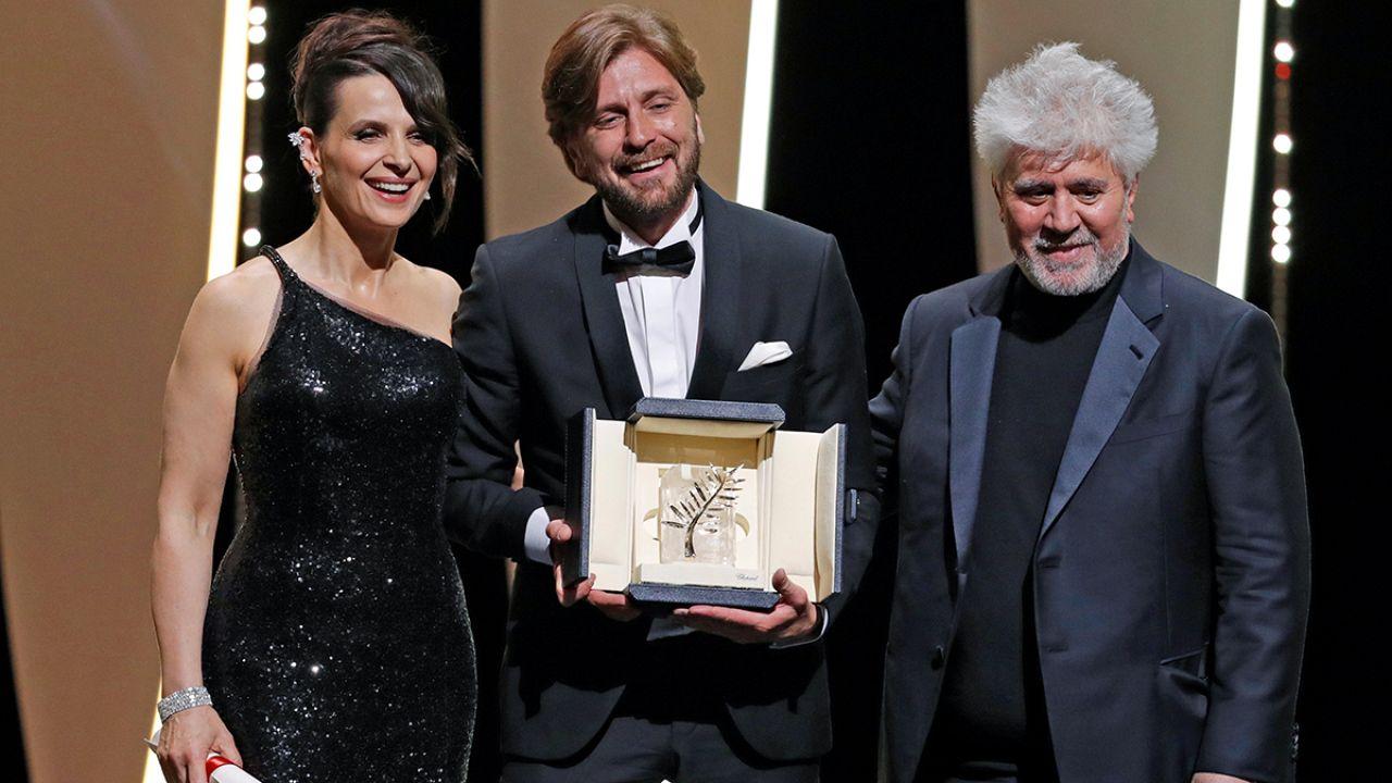 "La sueca ""The square"", Palma de Oro en Cannes"