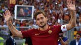L'addio al calcio di Francesco Totti, le reazioni sui social media