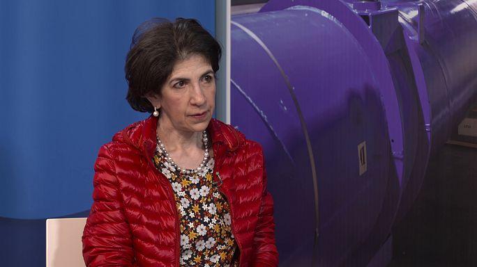 """CERN Genel Başkanı Fabiola Gianotti: """"Evrenin yüzde 95'i hakkında hiç bir şey bilmiyoruz"""""""