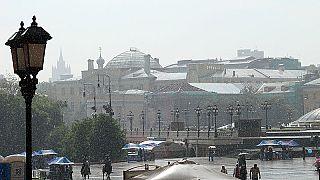 Москва во власти мощнейшего урагана
