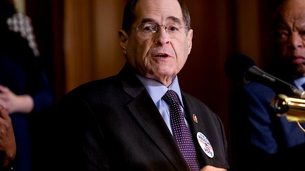 Image: Rep. Jerry Nadler, D-N.Y., speaks during a press conference on Capit