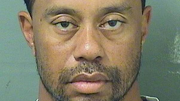 Former world number one golfer Tiger Woods arrested in Florida on drink-driving charges.