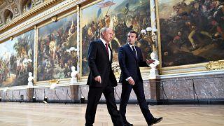 """ماكرون لبوتين:""""استخدام الأسلحة الكيماوية في سوريا خطٌ أحمر"""""""