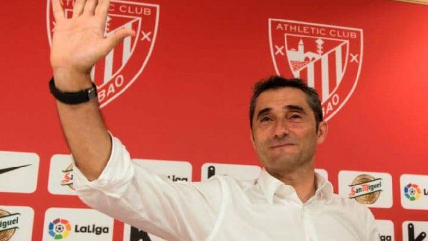 إرنستو فالفيردي مدربا لبرشلونة  خلفا للويس انريكي