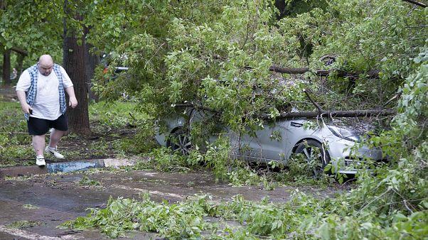 Moscou : une tempête fait au moins 11 morts