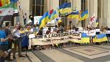 اعتراض در پاریس به سفر پوتین به فرانسه
