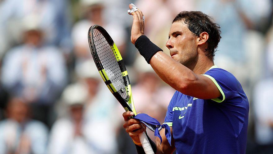 Roland Garros: Nadal, Djokovic y Muguruza no se derriten en la caldera de París