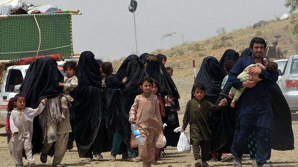 یکصد هزار بیجا شده در افغانستان ظرف پنج ماه