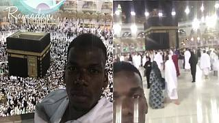 Paul Pogba goes on Islamic pilgrimage to thank Allah for a good season