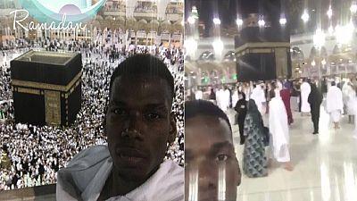 Paul Pogba goes on Islamic pilgrimage to thank Allah for a good season