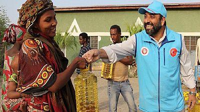 1,500 Ethiopian families get Ramadan supplies from Turkey