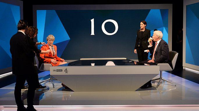 Theresa May contraataca ante el avance de Corbyn