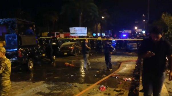 ستة عشر قتيلا على الأقل في هجوم انتحاري وسط بغداد