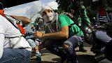 ونزوئلا؛ راهپیمایی ضد دولتی در کاراکاس به خشونت کشیده شد