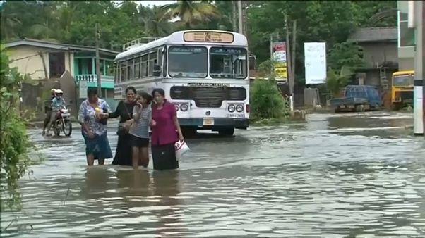 Inundaciones devastadoras en Sri Lanka