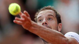 تنیس اوپن فرانسه: بازگشت موفقیت آمیز گاسکه