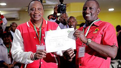 Kenya : le duo Uhuru/Ruto en quête d'un second mandat