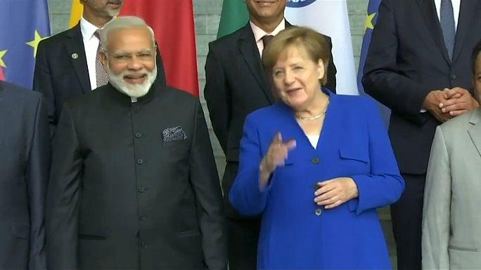 Indischer Regierungschef in Berlin