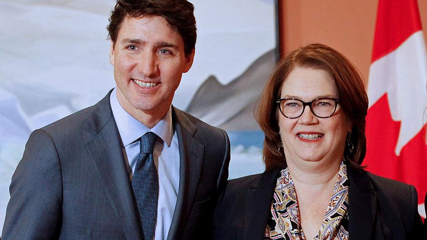 Image: Newly appointed president of the Treasury Board Jane Philpott poses