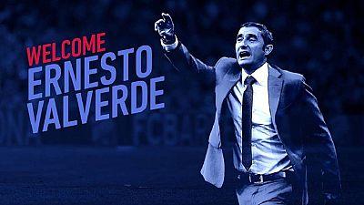 Ernesto Valverde Named Barcelona Manager