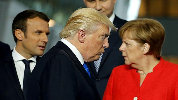 Germania: Merkel incontra Modi e attacca Trump
