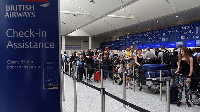 British Airways устранила сбой