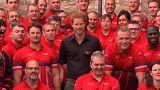 Prince Harry unveils UK Invictus Games team