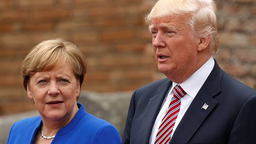 Face à Trump, Merkel presse l'Europe de prendre son destin en main