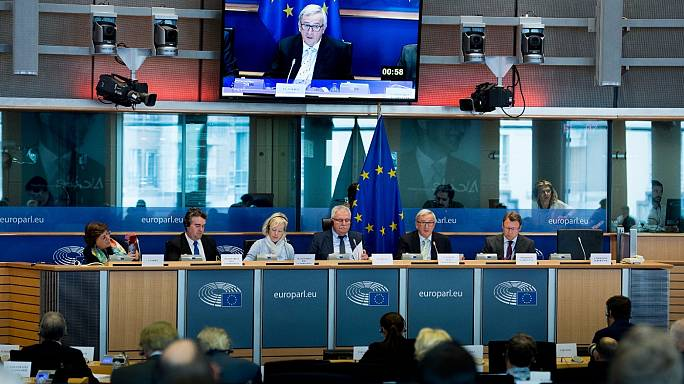 EU's Juncker faces tax questions from MEPs