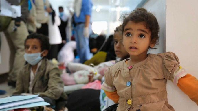Epidemia de cólera en el Yemen