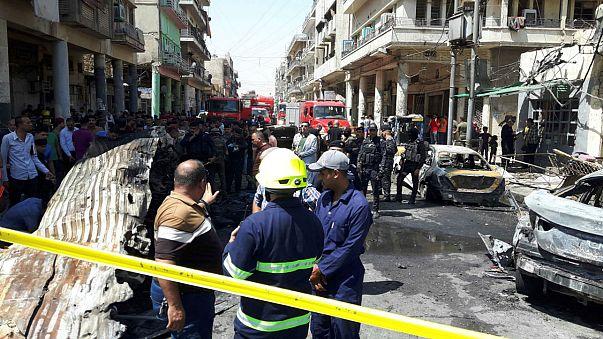 27 قتيلا في تفجيرين استهدفا بغداد واستمرار المعارك في الموصل