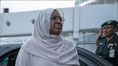 La première dame du Nigeria part à Londres, au chevet de son mari
