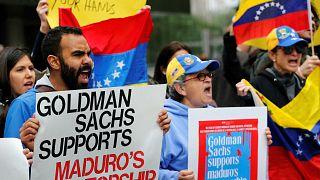 Венесуэльская оппозиция протестует в Нью-Йорке