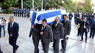 """Abschied von Konstantinos Mitsotakis:""""Er setzte Maßstäbe"""""""