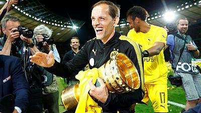 Borussia Dortmund and AS Roma coaches resign