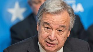 UN chief makes climate change plea