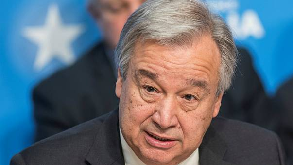 UN chief makes climate change plea