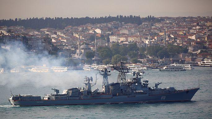 Rússia dispara mísseis contra Daesh a partir do Mediterrâneo