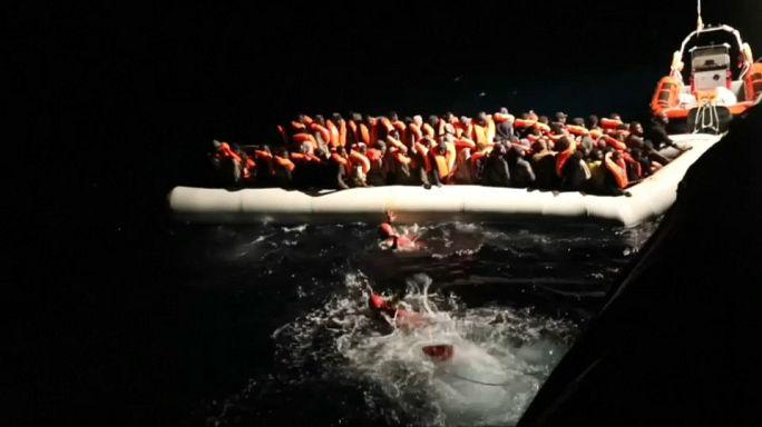 Europe : les arrivées de migrants en chute