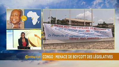 Congo: Opposition parties threaten to boycott legislative polls [The Morning Call]
