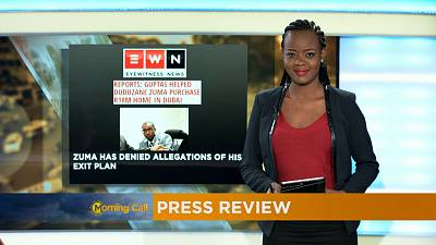 Press Review of May 31, 2017 [The Morning Call]