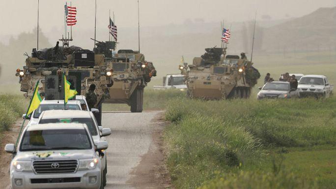US-Waffen an YPG in Syrien