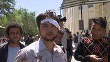 A német nagykövetségnél robbantottak Afganisztánban