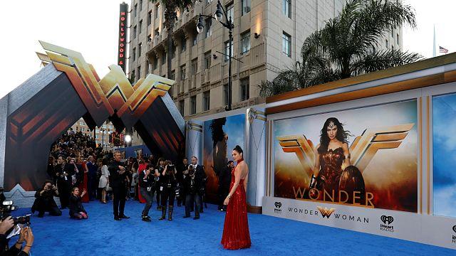 Superhero Wonder Woman finally gets cinema moment