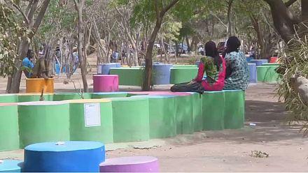 Sénégal: des bancs à partir des déchets