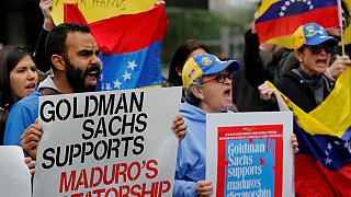 Goldman Sachs caught up in anti-Maduro protests
