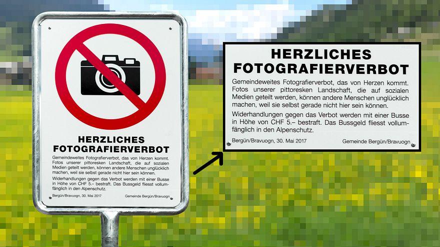 En Suisse, il est désormais interdit de photographier le village de Bergün