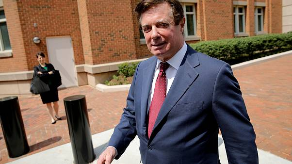 Image: Manafort departs U.S. District Court in Alexandria, Virginia